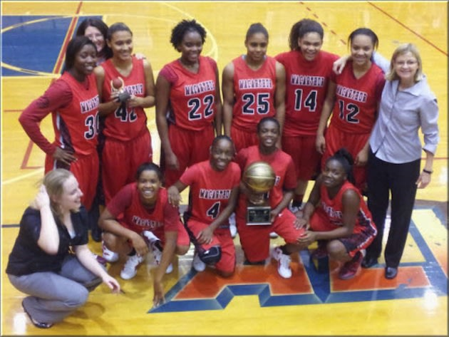 The Irving MacArthur girls basketball team — LadyCardinalBasketball.net