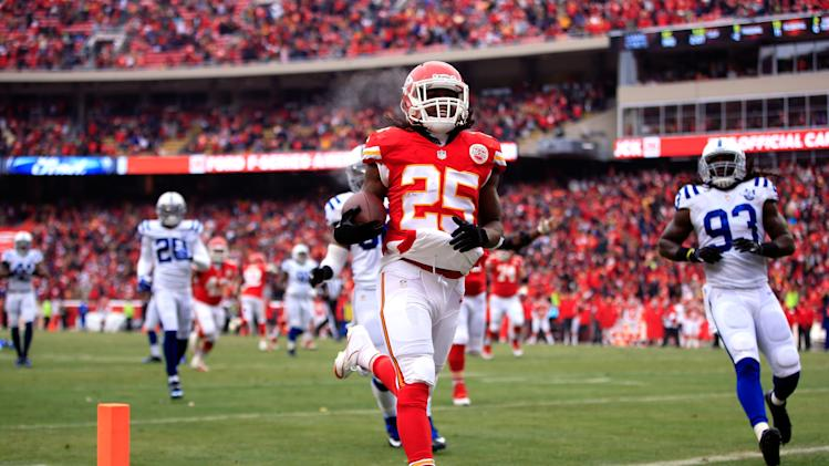 Chiefs running back Jamaal Charles reportedly set to hold out