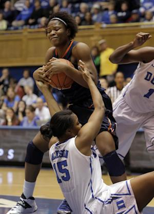 Liston powers No. 3 Duke women past Virginia 90-55