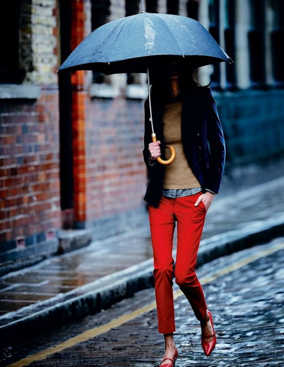 Red Shoes for a Rainy Day