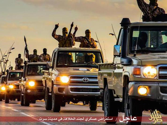 ISIS now has a 'colony' in an oil-rich Libyan city just 400 miles from Italy