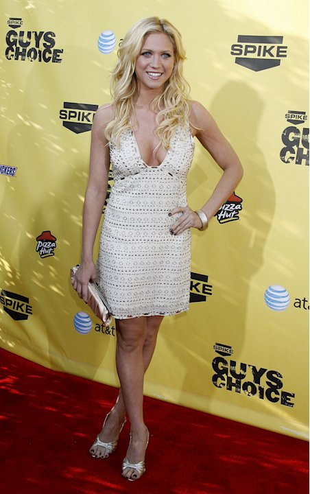 "Brittany Snow at Spike TV's ""Guys Choice"" Awards."