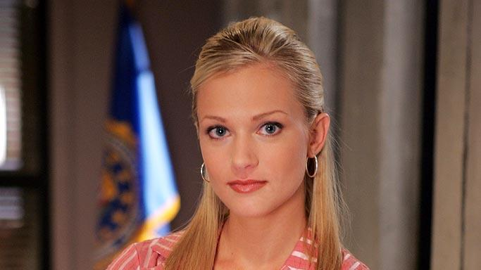 A J Cook stars as Jennifer Jareau in Criminal Minds on CBS.