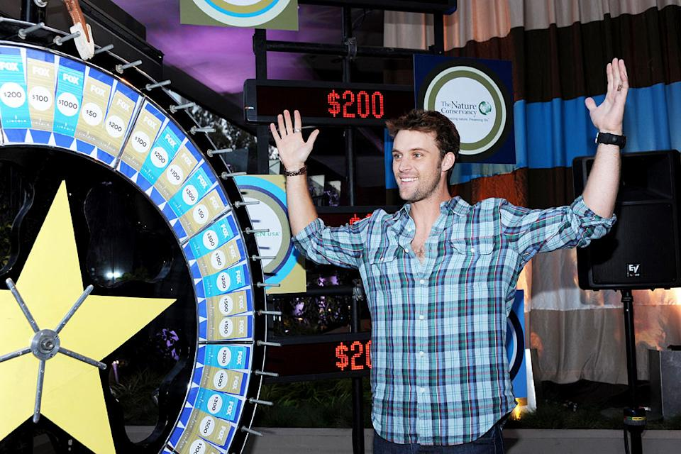 "Jesse Spencer of ""House"" celebrates at the 2010 Fox Fall Eco-Casino party on September 13, 2010, at Boa in West Hollywood."