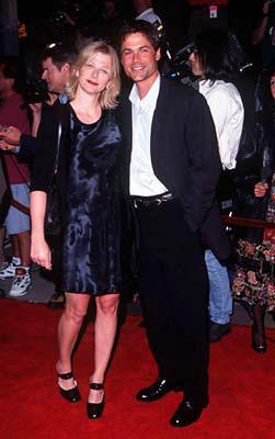 Premiere: Rob Lowe and gal at the Westwood premiere of Twister - 5/8/1996