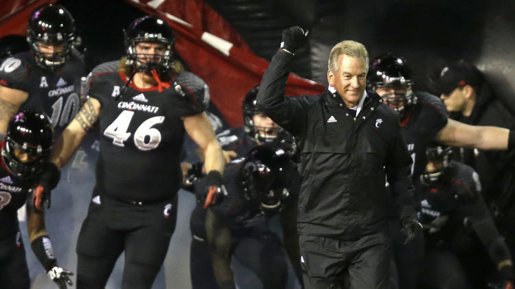 Cincinnati will face North Carolina in Belk Bowl