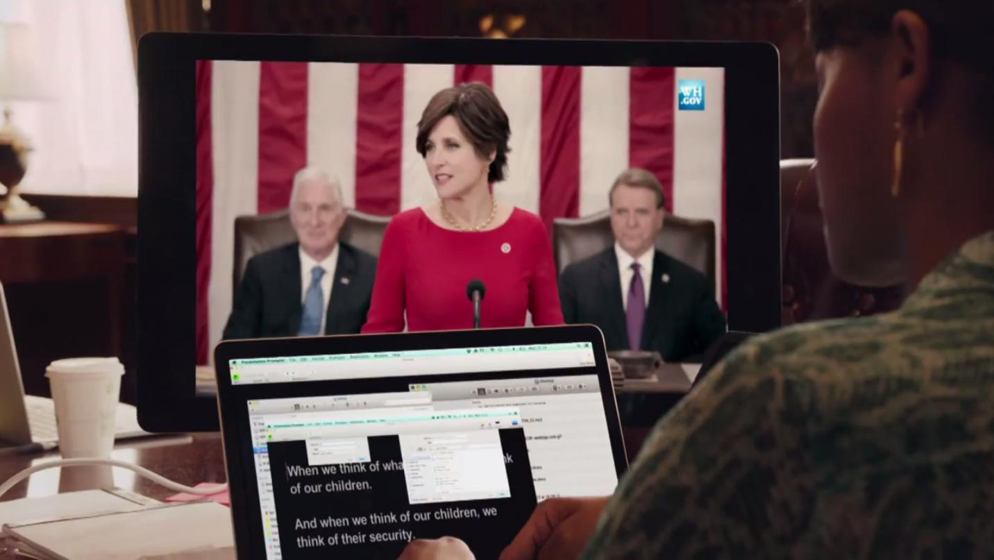 Watch the first trailer for Veep's 4th season right now