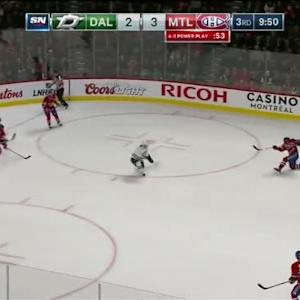 Kari Lehtonen Save on P.K. Subban (10:11/3rd)