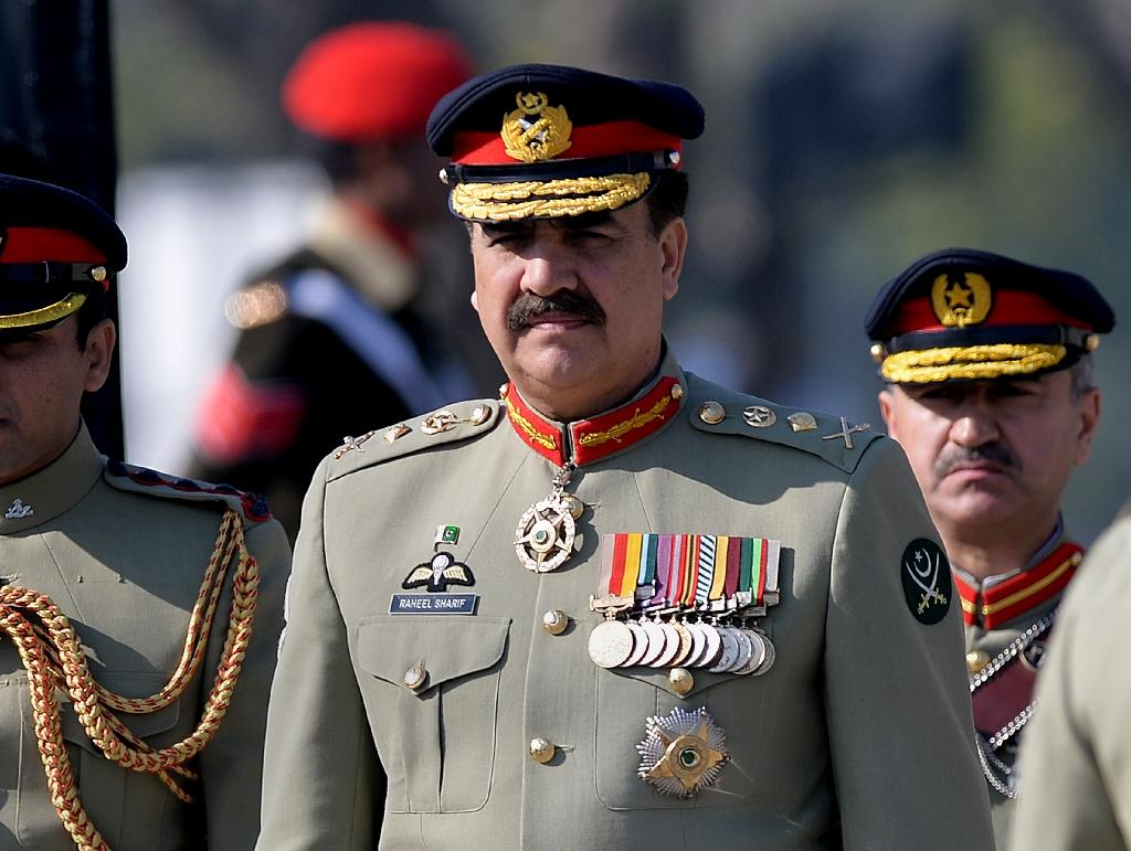 Pakistan army chief say would not allow even a shadow of Daesh