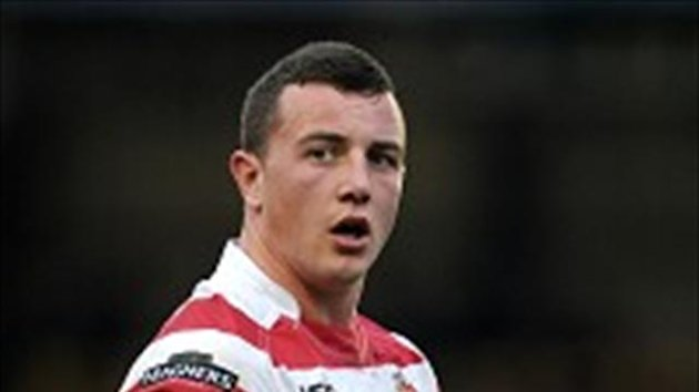 Chris Tuson had the final say on the game for Wigan Warriors