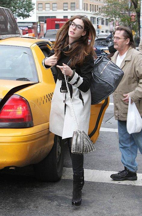 Anne Hathaway New York