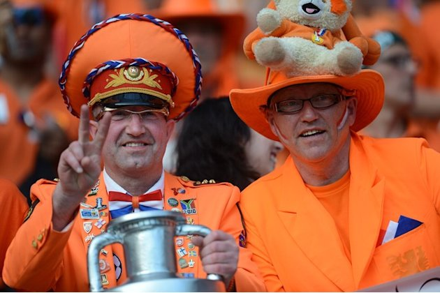 Dutch Fans AFP/Getty Imag …