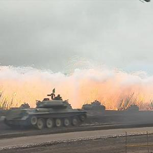 Raw: Japanese Military Live Fire Exercise