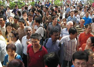 The racial divide may be narrowing in Singapore. (Yahoo!)