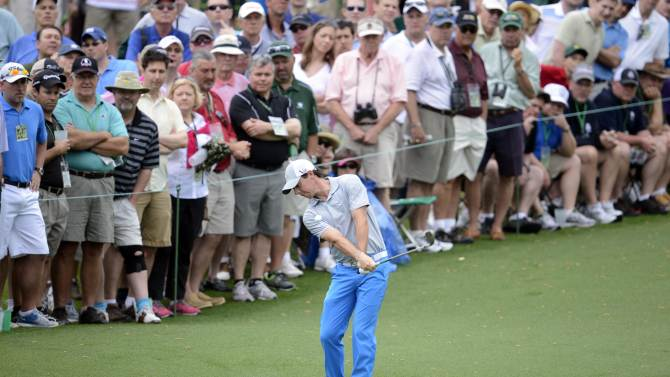 Golf: The Masters-Second Round