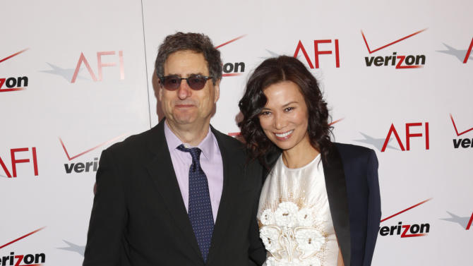 Tom Rothman and Wendi Murdoch attend the 13th Annual AFI Awards Luncheon at the Four Seasons Hotel Los Angeles at Beverly Hills on Friday, January 11, 2013 in Los Angeles. (Photo by Todd Williamson/Invision/AP)
