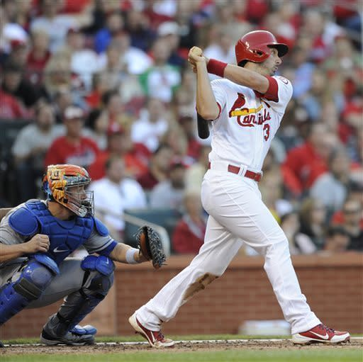 Wigginton dash boosts Cardinals past Mets 6-3