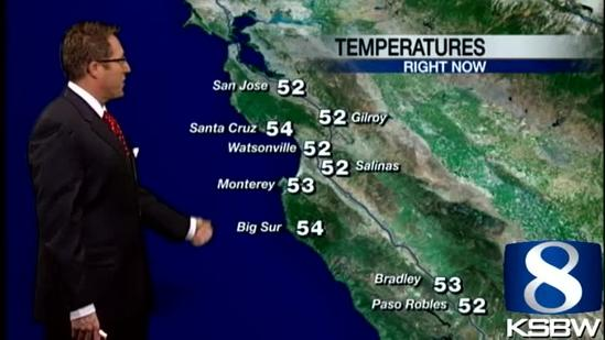 Check out your Friday morning KSBW Weather Forecast 01 25 13