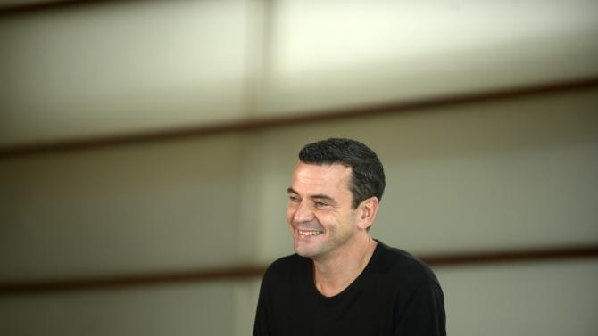 French director Christian Petzold takes part in a photocall on the fourth day of the 62nd San Sebastian Film Festival