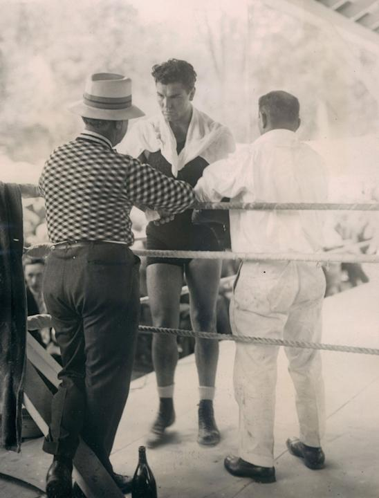 14. Jack Dempsey KO2 Luis Angel Firpo, Sept. 14, 1923 – The fight was a wild brawl and Dempsey had Firpo on the floor seven times in the first round. But Dempsey was down twice and once was knocked th