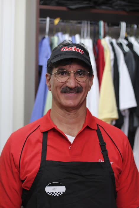 "Checkers' CEO Rick Silva after his transformation on ""Undercover Boss."""