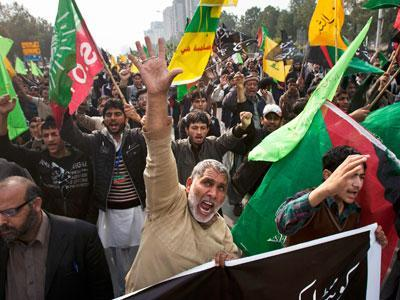 Pakistanis Protest Sectarian Violence
