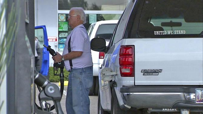 Gas prices up 25 cents in the past week