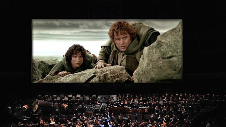 'The Lord of the Rings' film trilogy will be accompanied by a 250-person orchestra in NYC next year
