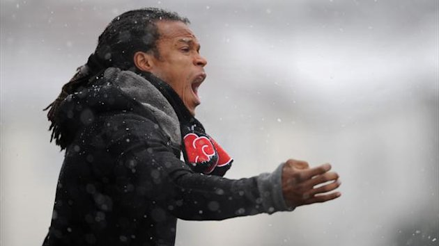 Edgar Davids has resigned as head coach of Barnet (PA Sport)