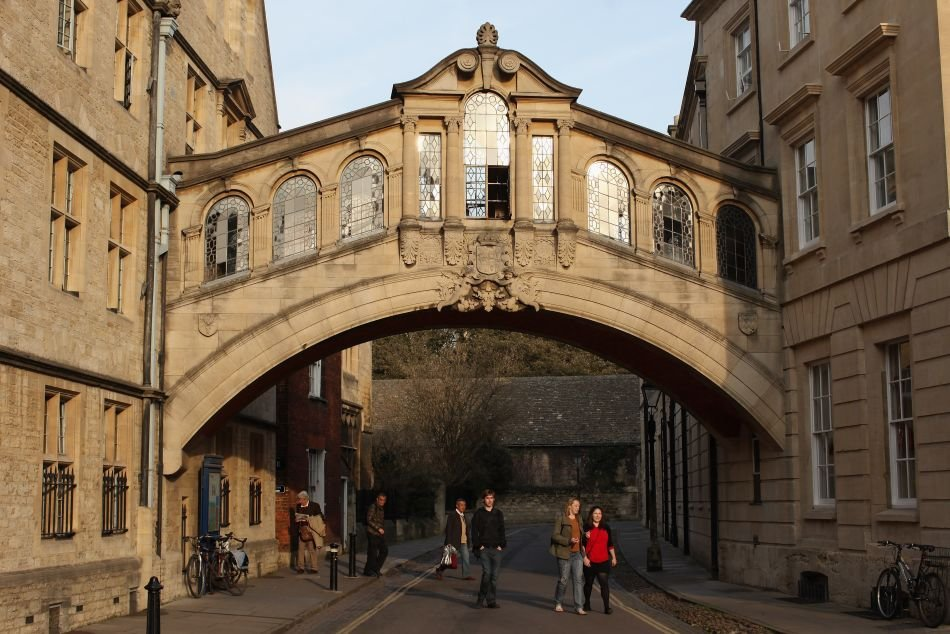 Bridge of Sighs along New College