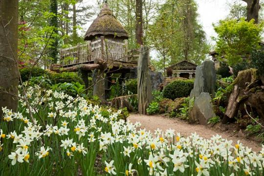 See the Incredible Fairy Tale Treehouse Prince George Gets to Call His Own