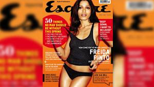 Freida Pinto Gets Sexy for Esquire
