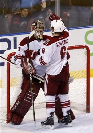 Vrbata, Whitney lead Coyotes to win over Panthers