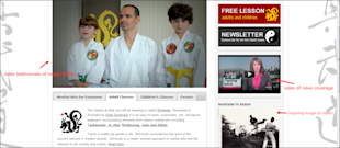 How Your Websites Content Can Make You Money! image martial arts classes