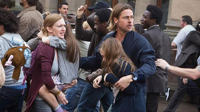 Pitt: Zombie Flick 'World War Z' Breaks New Ground