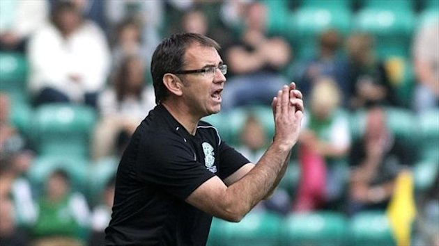 Pat Fenlon was relieved as Hibs picked up a point