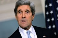 "US Secretary of State John Kerry pictured on February 8, 2013. The United States is weighing up what steps to take next to try to end the conflict in Syria, Kerry said, adding there was ""too much killing"" in the 22-month war"