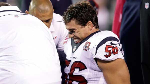 Kubiak: LB Brian Cushing has torn ACL, out for season