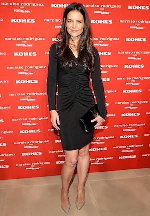 Katie Holmes Wears $70 Kohl's Dress