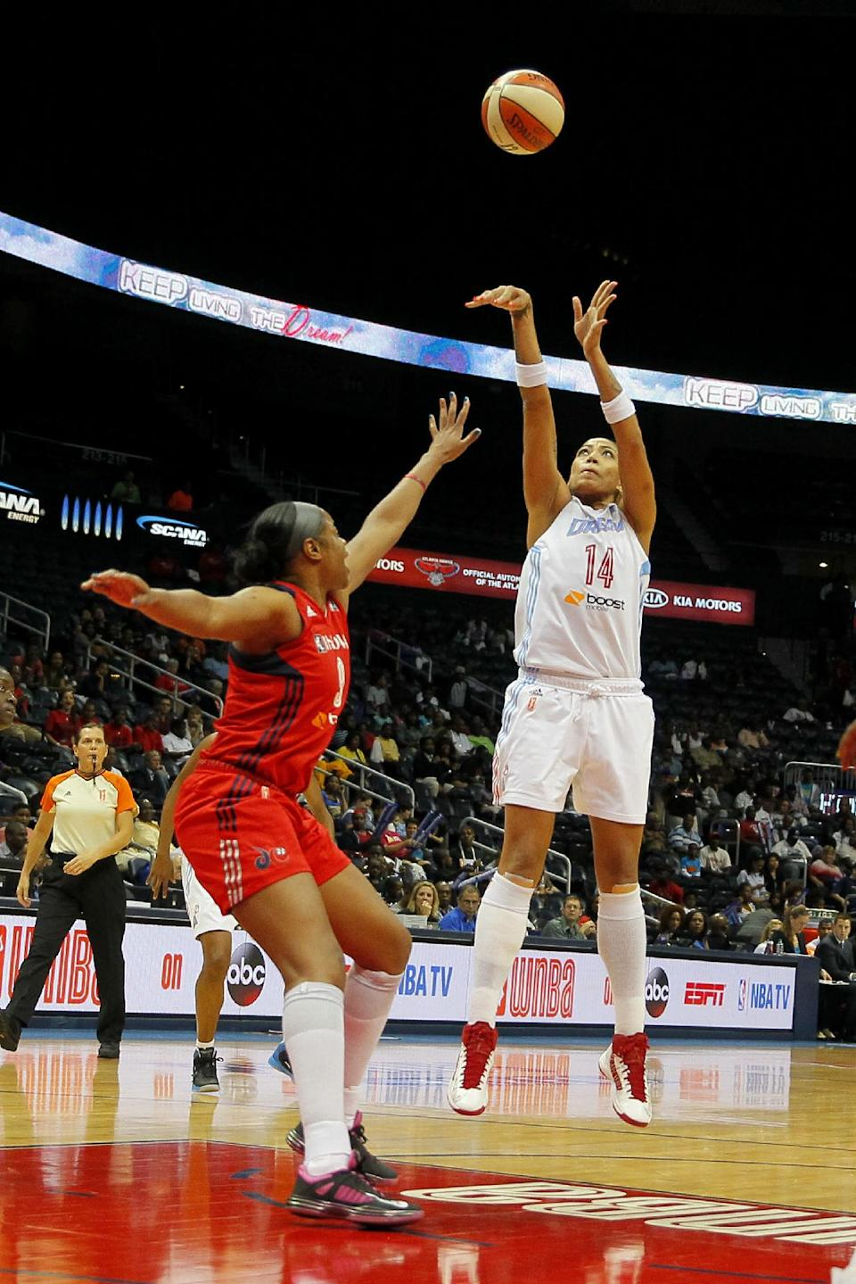Dream beat Mystics in Game 3 to advance