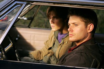Jared Padalecki and Jensen Ackles The WB's Supernatural