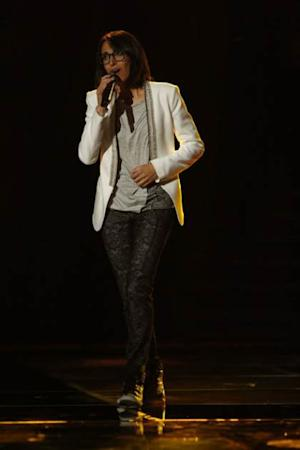 Michelle Chamuel performs during the Top 10 round of Season 4 of 'The Voice,' May 20, 2013 -- NBC