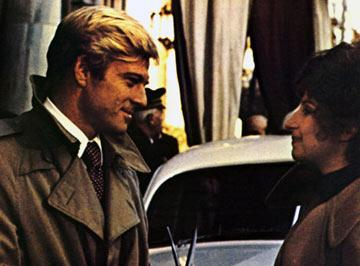Robert Redford and Barbra Streisand in Columbia Pictures' The Way We Were