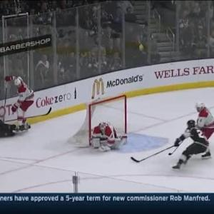 Cam Ward Save on Trevor Lewis (14:02/1st)