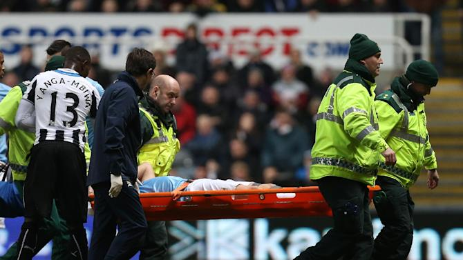 Samir Nasri says he'll be out for 8 weeks