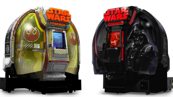 Have a spare $100k? Why not pick up a limited edition Star Wars Battle Pod?