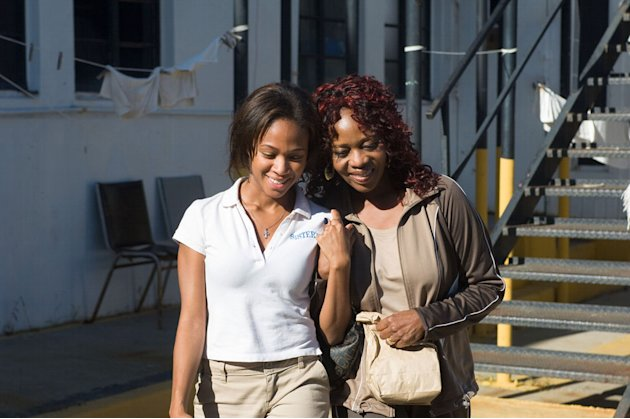 Nicole Beharie Alfre Woodard American Violet Production Stills Samuel Goldwyn 2009