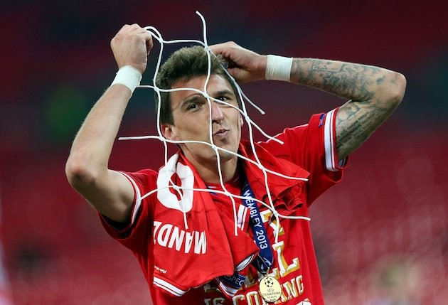 Mario Mandzukic's Champions League winner's medal fell off, was ...