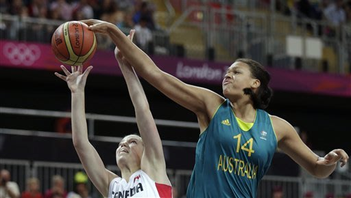 Australia beats Canada 72-63 in women's basketball