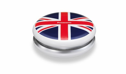 Panasonic SC-MC07 Bluetooth Wireless Stereo Speaker Union Jack version